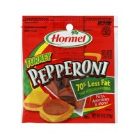 Hormel Turkey Pepperoni 70% Less Fat  5 OZ