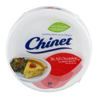 Chinet Classic White All Occasion Plates 36 CT