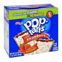 Kellogg's Pop-Tarts Frosted Strawberry Flavor 12 CT