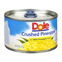 Dole Crushed Pineapple in 100% Pineapple Juice - 8.0 OZ
