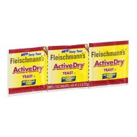 Fleischmann's Active Dry Yeast - 3 CT 0.75 OZ