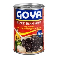 Goya Black Bean Soup 15 OZ