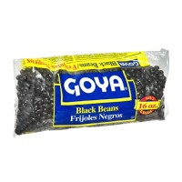 Goya Dry Black Beans (bag) 16 OZ