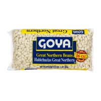 Goya Dry Great Northern Beans (bag) 16 OZ