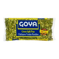 Goya Dry Green Split Peas (bag) 16 OZ