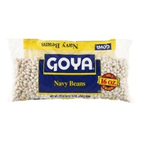 Goya Dry Navy Beans (bag) 16 OZ