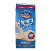 Blue Diamond Almond Breeze Almond Milk - Vanilla - Unsweetened 1QT