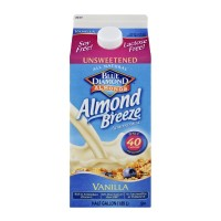 Almond Milk Blue Diamond Unsweetened Vanilla - .5 GL