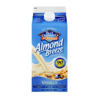 Almond Milk Blue Diamond Vanilla - .5 GL