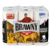 Brawny Pick-A-Size Paper Towels - 6 CT