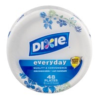 Dixie Everyday Plates 6 7/8 in - 50 CT