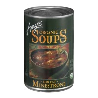 Amy's Organic Soups Low Fat Minestrone 14.1 OZ