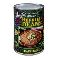 Amy's Kitchen Vegetarian Organic Refried Traditional Beans 15.4 OZ