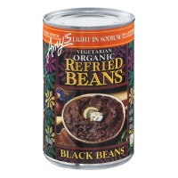 Amy's Vegetarian Organic Refried Beans - Black Beans 15.4 OZ