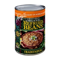 Amy's Kitchen Vegetarian Organic Refried Beans - Traditional 15.4 OZ