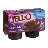 JELL-O Pudding Snacks - Chocolate - Sugar Free - 4 CT 14.5 OZ