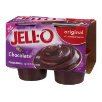 Jell-O Pudding Snacks - Chocolate - Original - 4 CT 15.5 OZ