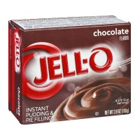 JELL-O Instant Pudding & Pie Filling Chocolate 3.9 OZ