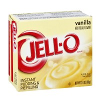 Jell-O Instant Pudding and Pie Filling - Vanilla 3.4 OZ