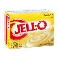 Jell-O Instant Pudding and Pie Filling - Lemon 3.4 OZ