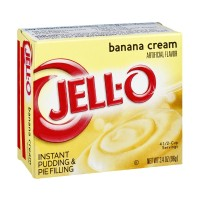Jell-O Instant Pudding and Pie Filling - Banana Cream 3.4 OZ
