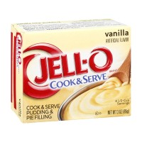 JELL-O Pudding - Cook and Serve - Vanilla 3 OZ