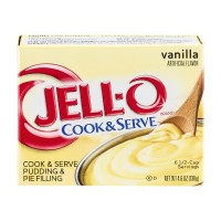 JELL-O Pudding - Cook and Serve - Vanilla 4.6 OZ