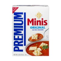 Nabisco Premium Minis Original Saltine Crackers 11.0 OZ