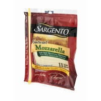 Sargento Natural Mozzarella Deli Style Sliced Cheese - 11 CT 8 OZ
