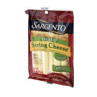 Sargento String Cheese - Mozzarella - Light 12 PK 9 OZ