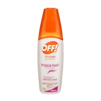 OFF! FamilyCare Insect Repellent - Tropical Fresh Light Scent 6 FL OZ