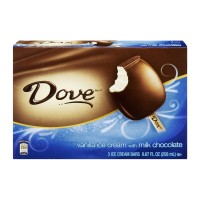 Dove Silky Smooth Vanilla Ice Cream Bars With Milk Chocolate - 3 CT - 8.67 FL OZ