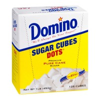Domino Dots Sugar Cubes - Dots - Pure Cane - 1 LB