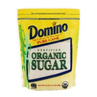 Domino Certified Organic Pure Cane Sugar 24 OZ