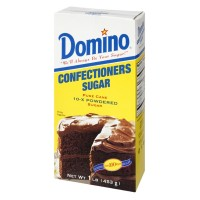 Domino Pure Cane 10-X Powdered Confectioners Sugar 1 LB