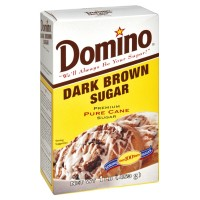 Domino Pure Cane Dark Brown Sugar 1 LB