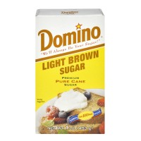 Domino Pure Cane Light Brown Sugar 1 LB