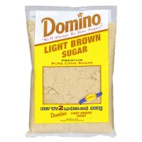 Domino Pure Cane Light Brown Sugar 2 LB
