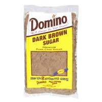 Domino Pure Cane Dark Brown Sugar 2 LB
