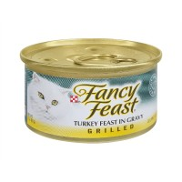 Fancy Feast Gourmet Cat Food - Turkey Feast in Gravy GRILLED - 3.0 OZ