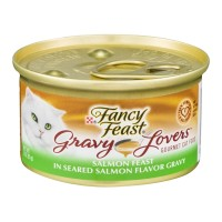 Fancy Feast Gourmet Cat Food - Gravy Lovers Salmon Feast - 3.0 OZ