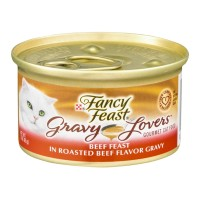 Fancy Feast Gourmet Cat Food - Gravy Lovers Beef Feast - 3.0 OZ