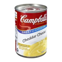 Campbell's Cheddar Cheese Condensed Soup 10.75 OZ