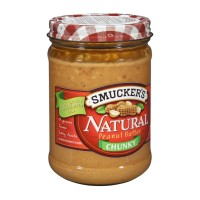 Smucker's Natural Chunky Peanut Butter 16 OZ