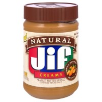 Jif Natural Creamy Peanut Butter Spread - 28.0 OZ