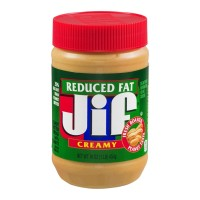 Jif Reduced Fat Creamy Peanut Butter Spread  - 16.0 OZ