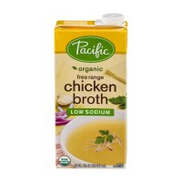 Pacific Free Range Chicken Broth - Low Sodium - Organic 32 FL OZ