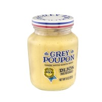 Grey Poupon Dijon Mustard - Made with White Wine - 8.0 OZ