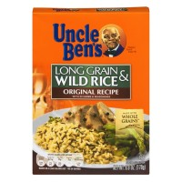 Uncle Ben's Original Recipe Long Grain & Wild Rice 6 OZ