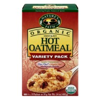 Nature's Path Organic Instant Hot Oatmeal Variety Pack 8 CT